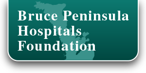 Bruce Peninsula Health Services Foundation logo, click to go home
